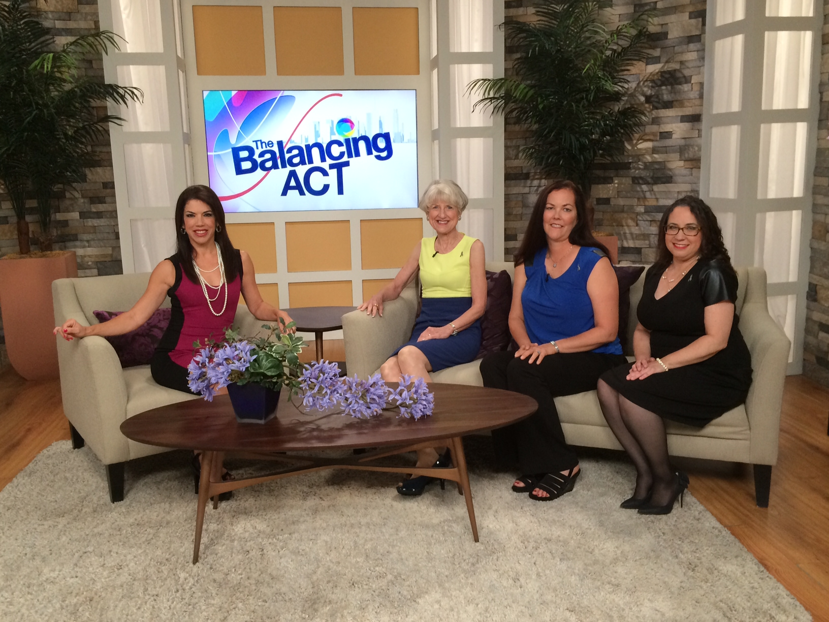 METAvivor featured on The Balancing Act® on Lifetime® Television!